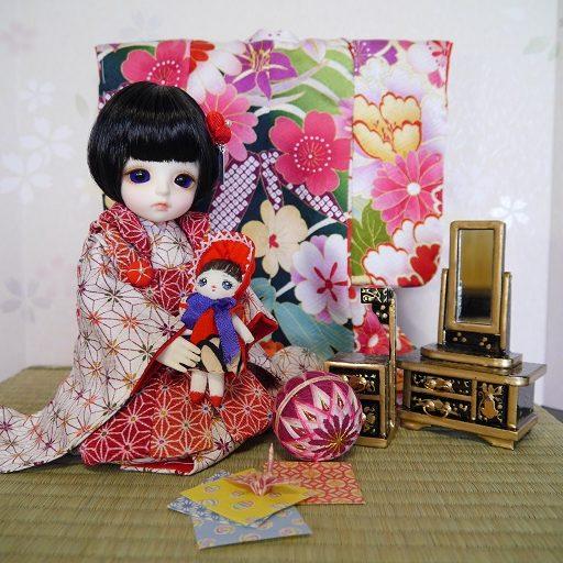 彩花 ドールのための着物と衣裳です。