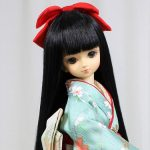 裾引き振袖 「舞扇に桜」MSD、MDD共通サイズ