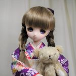 三つ編みのお嬢さん